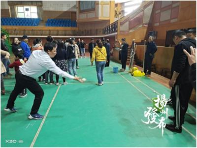 【视频】趣味运动一下吧!扬州这个学校嗨翻了天!