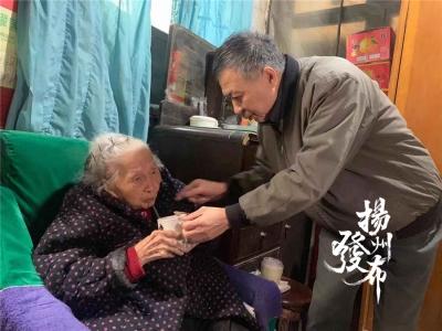 """【暖新闻】江苏扬州:家有109岁老母亲!""""我们这个年纪能喊声'妈妈'是幸福"""""""