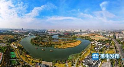 新华社聚焦运河三湾生态文化公园