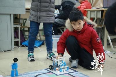 【视频】600余名选手现场PK,扬州青少年科模大赛精彩纷呈