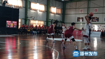 【视频】江苏省总决赛首回合,  蒋王中学篮球队主场三分惜败