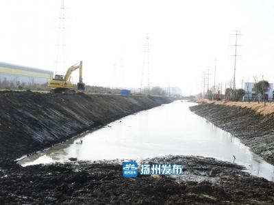 清淤整治正在加快实施,未来扬州这里将多一条景观河