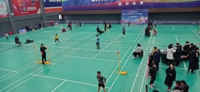 【视频】江苏省羽毛球队梯队选拔赛在扬州举行