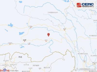西藏林芝市波密县发生3.0级地震