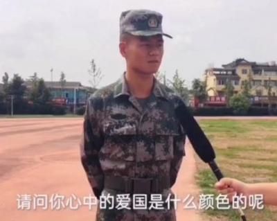 【视频】国庆特别采访:你心中的爱国是什么颜色?