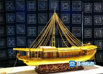 扬州17件非遗作品亮相中国传统工艺邀请展