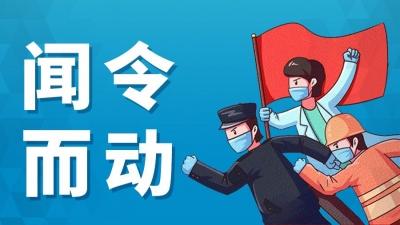 """【闻令而动】8个""""临时党支部"""",筑起居民家门口战疫的""""红色堡垒"""""""