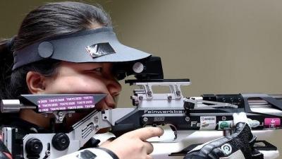 张翠平夺得东京残奥会SH1级50米女子自选步枪3×40金牌!