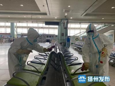 扬州公安部门扎实做好疫情防控工作,助力铁路客运业务恢复