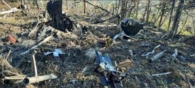 俄罗斯安-26飞机坠毁机上6人全部遇难,黑匣子被找到