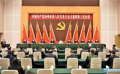 扬州市第八次党代会主席团举行第三、第四次会议