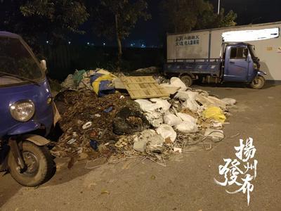 【马上办·视频】煞风景!施井公园外围垃圾堆放多,无人清理……