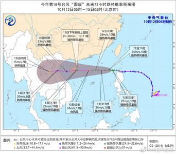 台风圆规即将登陆,华北等多地将有一次弱降水