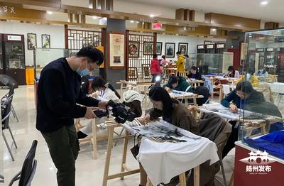 """30家中外媒体组团赴扬州""""486""""探寻运河非遗文化"""