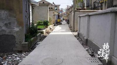 路平灯亮,江都全面完成13条背街小巷改造任务