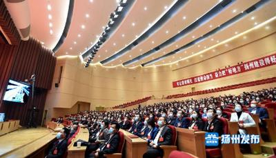 """江苏扬州:项目为王 铸就高质量发展""""硬核""""力量"""